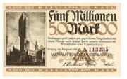 5,000,000 Mark (Messamt für die Mustermessen in Leipzig) – obverse