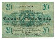20 Goldpfennig (Meßamt für die Mustermessen in Leipzig) – obverse