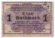 1 Goldmark (Handelskammer Leipzig) – obverse