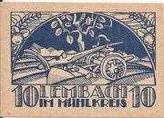 10 Heller (Lembach) – reverse