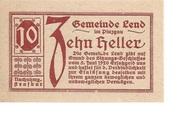 10 Heller (Lend) -  obverse