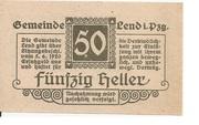50 Heller (Lend) -  obverse