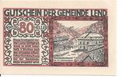 80 Heller (Lend) -  obverse
