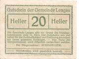 20 Heller (Lengau) -  obverse