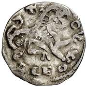 Dinero - Alfonso IX (Oviedo) – reverse