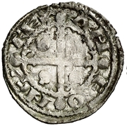 Dinero - Alfonso IX (Salamanca) – obverse
