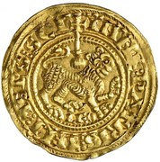 Gold maravedi - Fernando II (Leon) – reverse