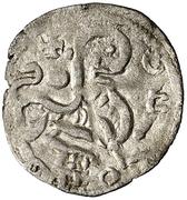Dinero - Alfonso IX (Coruna) – reverse