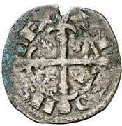Dinero - Alfonso IX (Santiago) – obverse