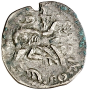 Dinero - Alfonso IX (Santiago) – reverse