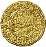 Gold Maravedi - Alfonso IX (Leon) -  obverse