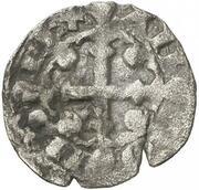 Dinero - Alfonso IX – obverse