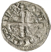 Dinero - Alfonso IX (Leon) – obverse