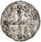 Dinero - Alfonso IX (star) – obverse