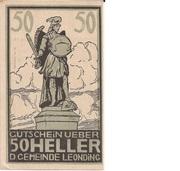 50 Heller (Leonding) – obverse