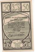 50 Heller (Leonding) – reverse