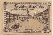 10 Heller (Leonfelden) -  reverse
