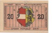 20 Heller (Leopoldschlag) -  reverse
