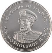 10 Maloti - Moshoeshoe II (Monument of King Moshoeshoe I) – obverse