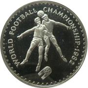 10 Maloti - Moshoeshoe II (World Cup) – reverse