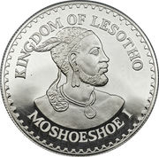 10 Maloti - Moshoeshoe II (International Year of the Child; Piedfort) – obverse
