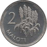 2 Maloti - Letsie III – reverse