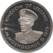 1 Loti - Moshoeshoe II – obverse
