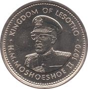 10 Lisente - Moshoeshoe II – obverse