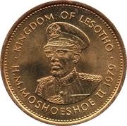 5 Lisente - Moshoeshoe II – obverse