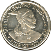 10 Licente - Moshoeshoe II (Independence Attained) – obverse