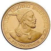 2 Maloti - Moshoeshoe II (Independence Attained) – obverse