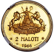 2 Maloti - Moshoeshoe II – reverse