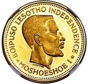4 Maloti - Moshoeshoe II – obverse