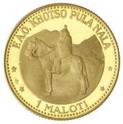 1 Maloti - Moshoeshoe II (FAO) – reverse