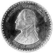 10 Maloti - Moshoeshoe II (George Washington) – reverse
