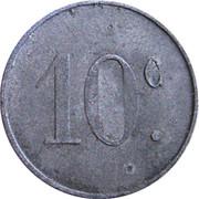 10 Centimes (Lespignan) – reverse