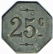 25 Centimes - La Populaire (Lespignan) -  reverse
