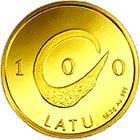 100 Latu – reverse