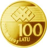 100 Latu -  reverse