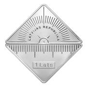 1 Lats (Riga Technical University) – obverse