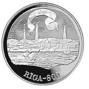 10 Latu (16th Century Riga) – reverse