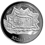 10 Latu (17th Century Riga) – reverse