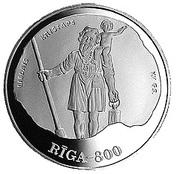10 Latu (15th Century Riga) – reverse
