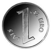 1 Lats (Parity coin) – reverse