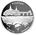 1 Lats (Kuldiga) – reverse