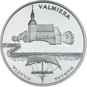1 Lats (Valmiera) – reverse
