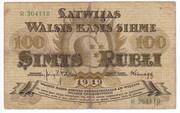 100 Rubļi – obverse
