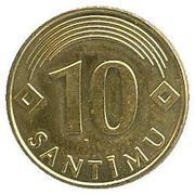 10 Santimu – reverse