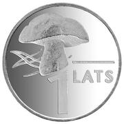 1 Lats (Mushroom) – reverse