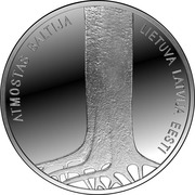 5 Euro (The Baltic Way) -  reverse